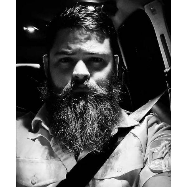 Long Shaggy Beard With Mustache