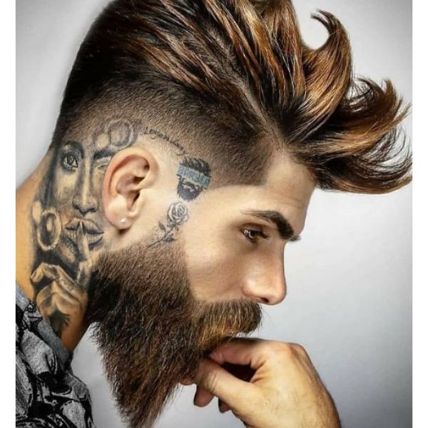 Pointy Beard Shape For Square Face
