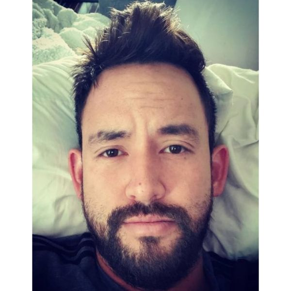 Short Chin Level Beard Hairstyle