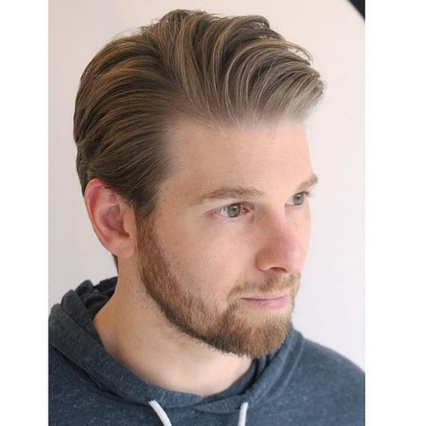 Soft Trimmed Layered Haircuts For Men