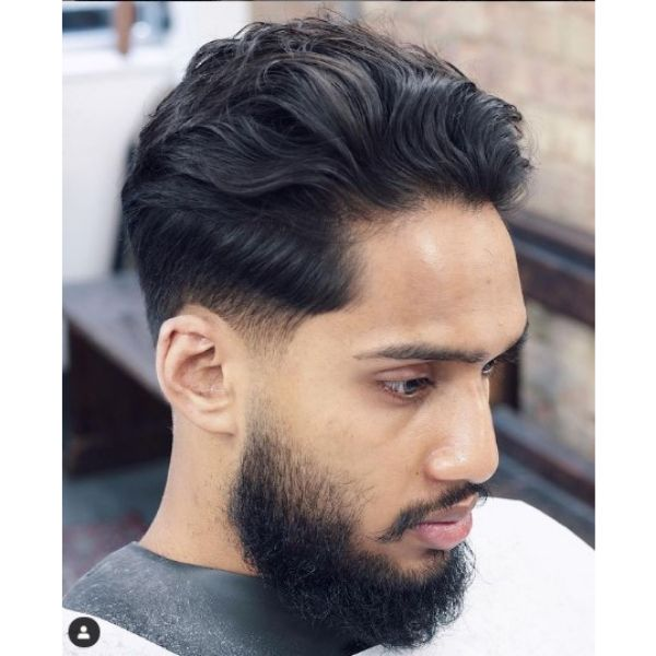 Tight Taper With Layered Top Haircuts For Men