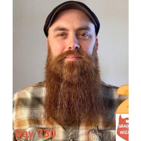 Tweard Beard With Short Mustache