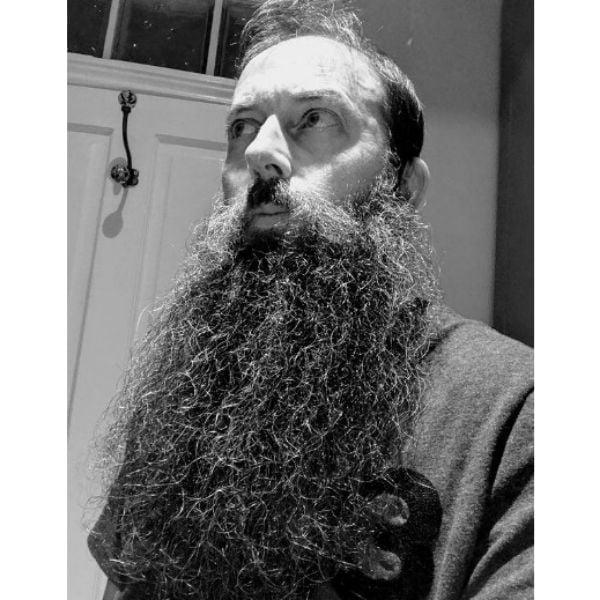 Ultra-long Beard With Mustache