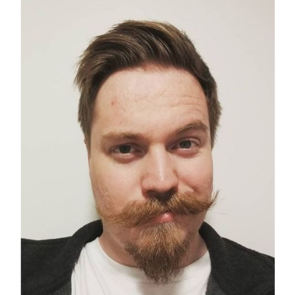 Van Dyke Style Beard