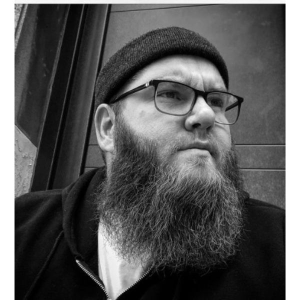 Yeard Beard With Trimmed Moustache
