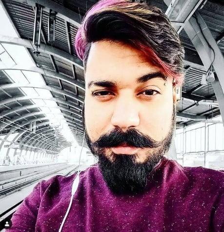 1 Dark Van Dyke Beard Shape