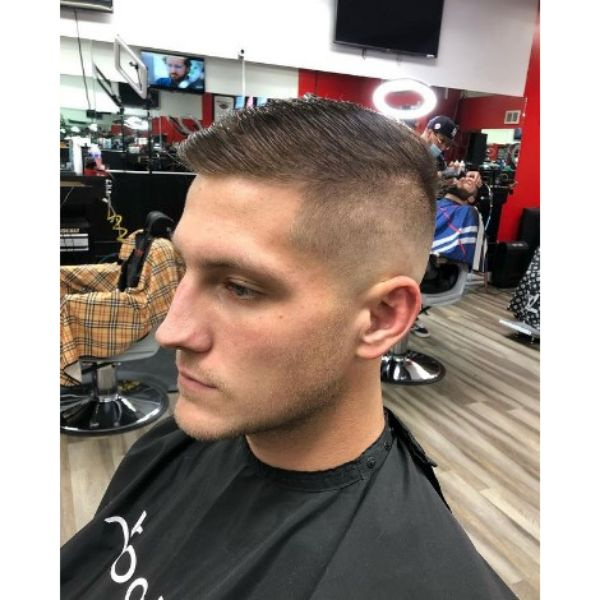Classic High Fade With Spiky Top