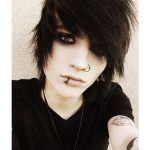 Classic Straightened Emo Hairstyles For Guys