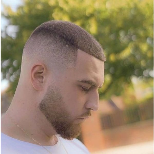 High Fade With Contoured Top
