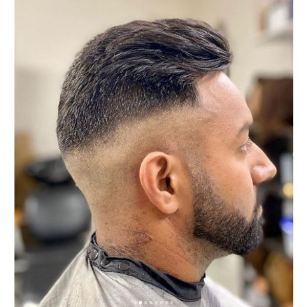 High fade haircuts for men With Cropped Top
