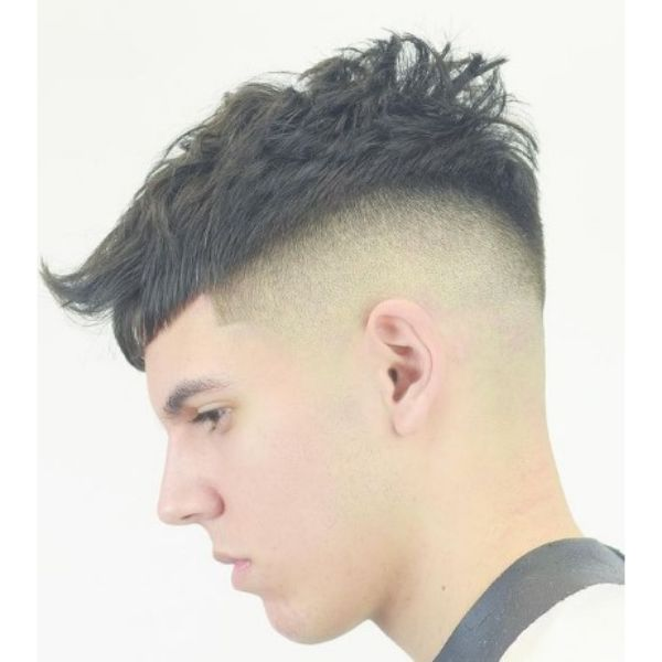 High fade haircuts for men With Modern French Crop