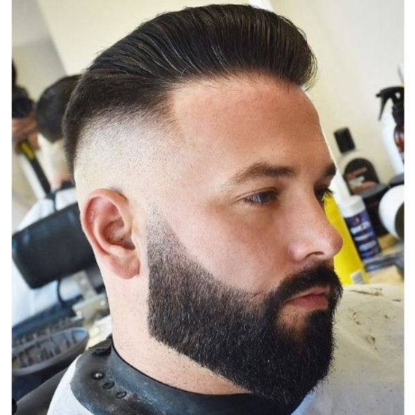 High fade haircuts for men With Pompadour Hairstyle
