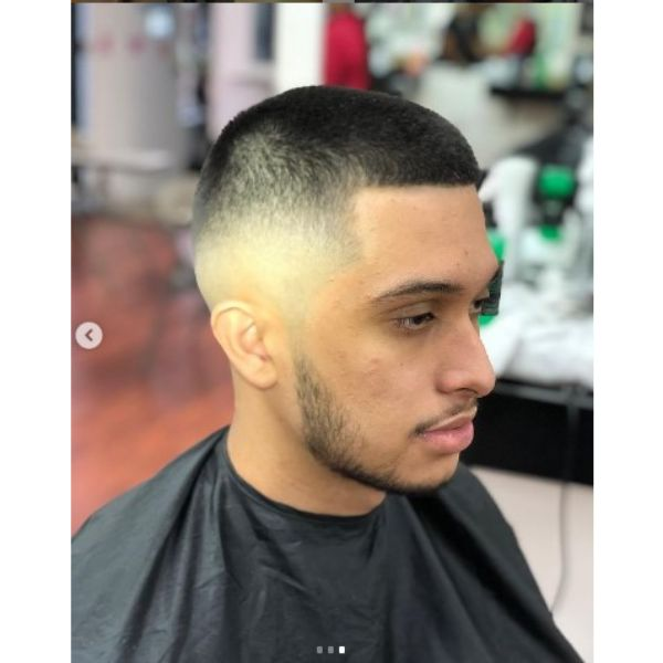 High Skin Fade With Spiky Top