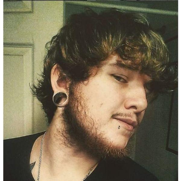 Medium Long Layered Haircut With Long Bangs