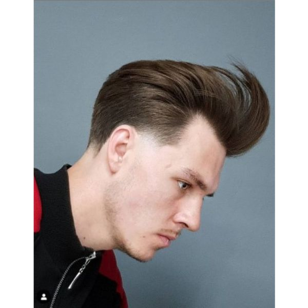 Long Trim Undone Pompadour