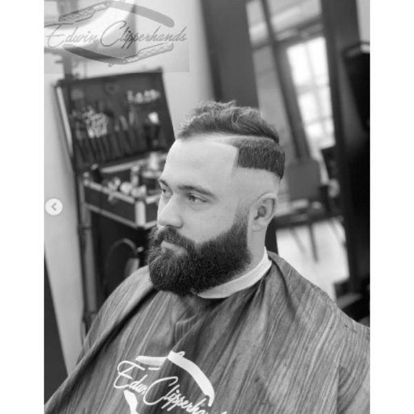Sharp Fade 1920's Style Haircut