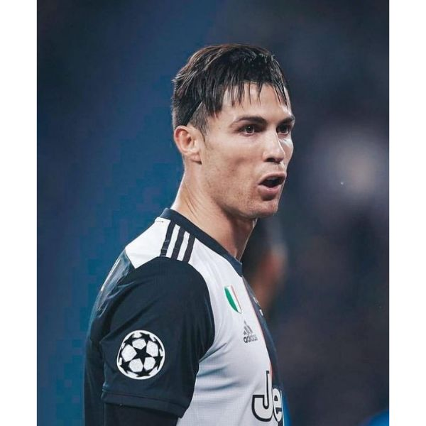 Disconnected Undercut Cristiano Ronaldo Hairstyles