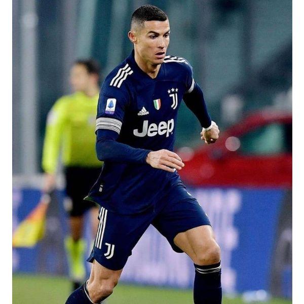 High Fade Buzz Cut Cristiano Ronaldo Hairstyles