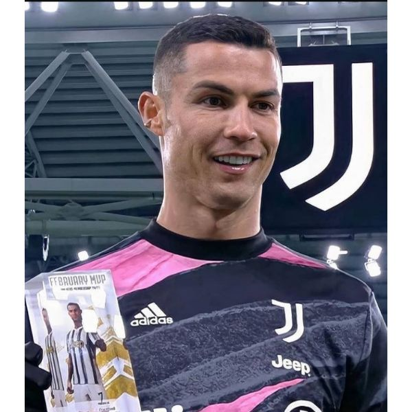 High Fade With Short Textured Top Cristiano Ronaldo Hairstyles