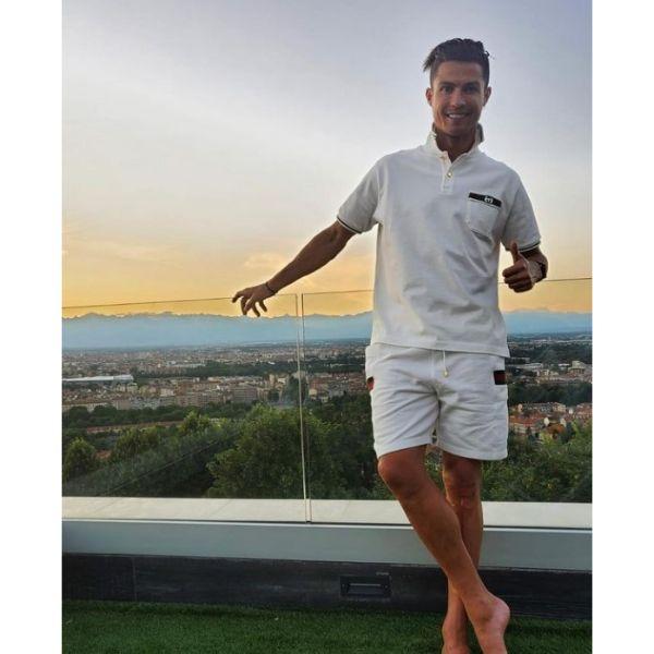Messy Slick Back With Zero Faded Sides Cristiano Ronaldo Hairstyles