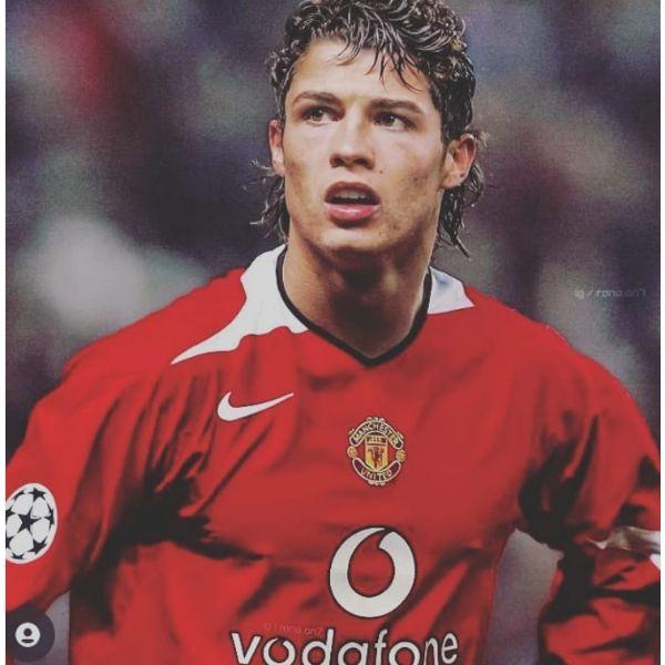 Retro Short Mullet Cristiano Ronaldo Hairstyles