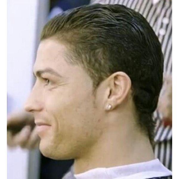 Slick-back Short Hairstyle